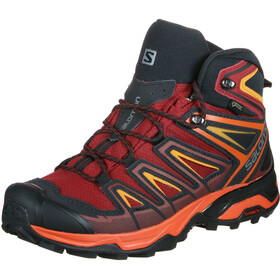 Salomon X Ultra 3 Mid GTX Kengät Miehet, red